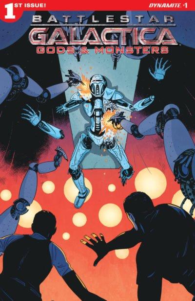 Battlestar Galactica – Gods and Monsters #1 – 5 + TPB (2016-2017)