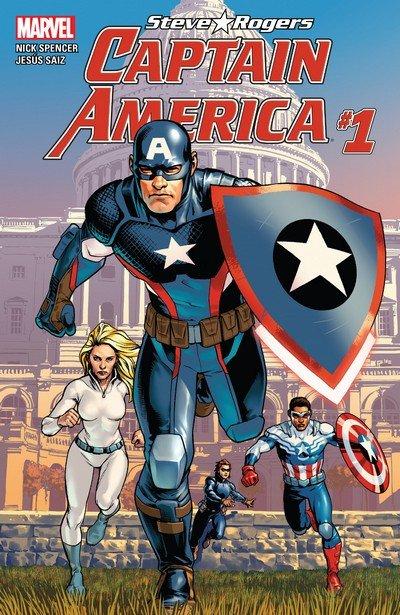Captain America – Steve Rogers #1 – 19 + TPBs (2016-2017)
