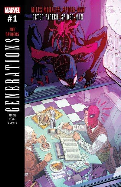 Generations – Miles Morales Spider-Man & Peter Parker Spider-Man #1 (2017)