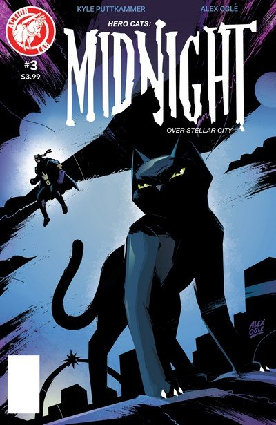 Hero Cats – Midnight Over Stellar City Vol. 2 #3 (2017)