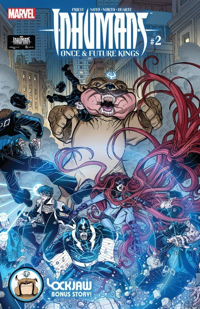 Inhumans – Once and Future Kings #2 (2017)