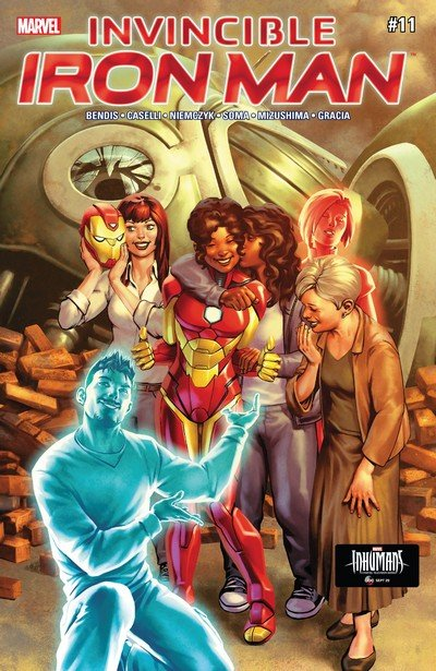 Invincible Iron Man #11 (2017)