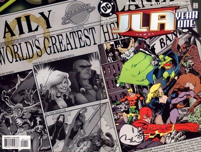 JLA Year One #1 – 12 (1998)
