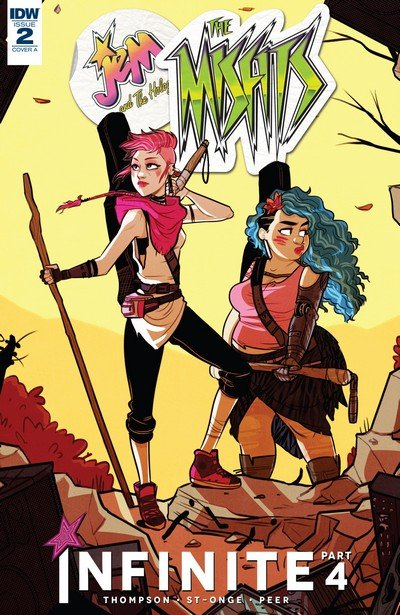 Jem and the Holograms – The Misfits – Infinite #2 (2017)