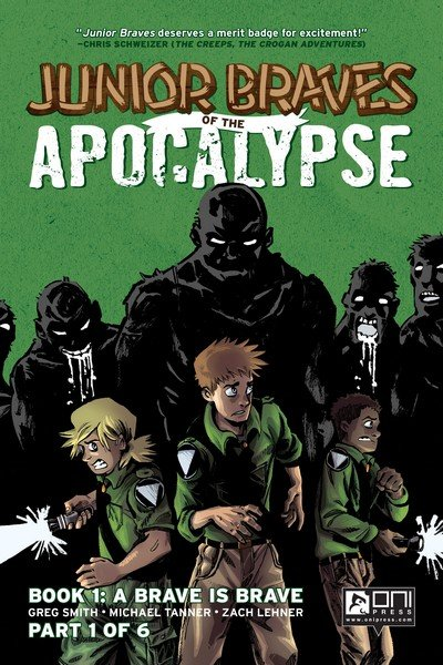 Junior Braves of the Apocalypse #1 – 6 + TPB (2015)