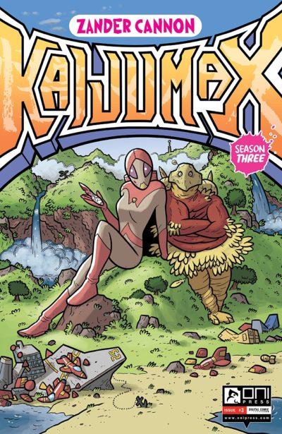 Kaijumax – Season Three #3 (2017)