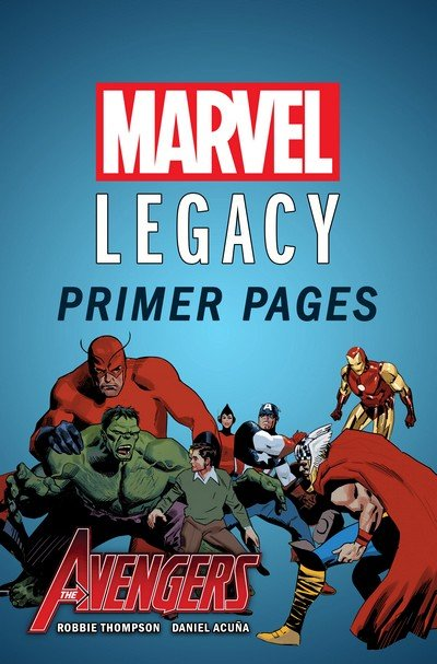 Marvel Legacy Primer Pages (Collection) (2017)