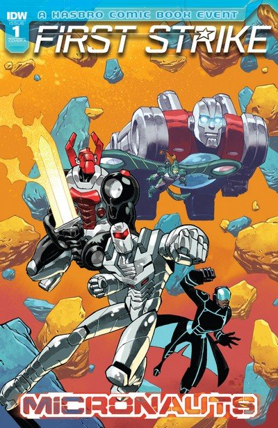Micronauts First Strike #1 (2017)
