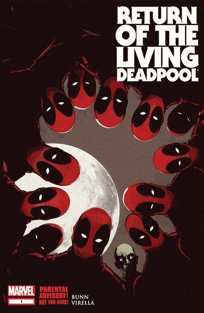 Return of the Living Deadpool #1 – 4 + TPB (2015)