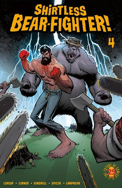 Shirtless Bear-Fighter! #4 (2017)