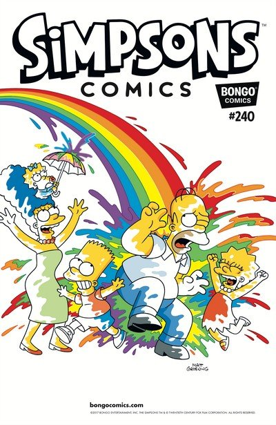 Simpsons Comics #240 (2017)