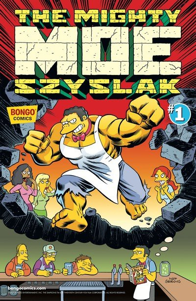 Simpsons One-Shot Wonders – The Mighty Moe Szyslak #1 (2017)