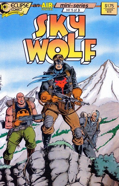 Sky Wolf #1 – 3 (1988)