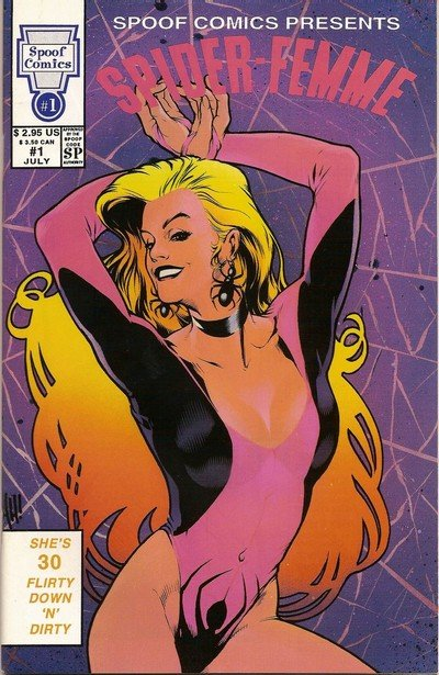 Spoof Comics Presents #1 – 18 + Extras (1992-1993)