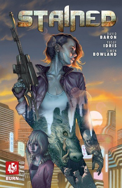 Stained #1 – 5 (2017)