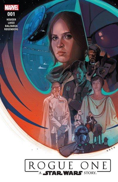 Star Wars – Rogue One Adaptation #1 – 6 + TPB (2017)