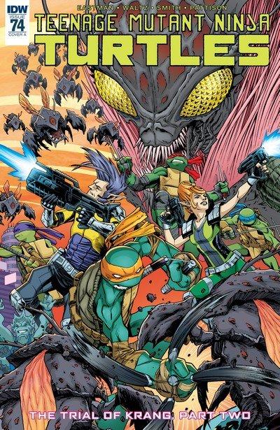Teenage Mutant Ninja Turtles #74 (2017)