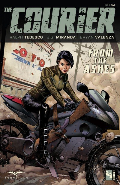 The Courier From The Ashes #1 – 5 (2017)