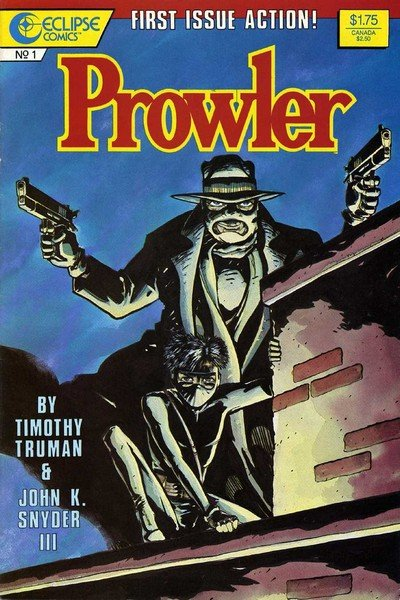 The Prowler #1 – 4 (1987)