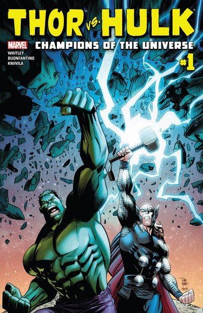 Thor vs. Hulk – Champions of the Universe #1 (2017)