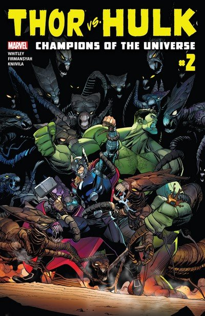 Thor vs. Hulk – Champions of the Universe #2 (2017)