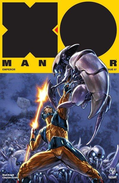 X-O Manowar #7 (2017)