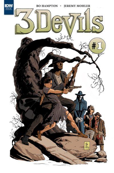 3 Devils #1 – 4 (2016)