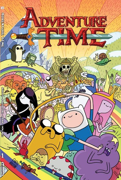 Adventure Time Vol. 1 – 10 (TPB) (2012-2016)