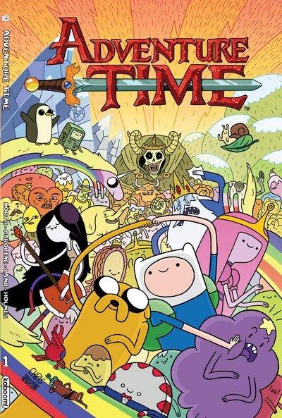 Adventure Time Vol. 1 – 14 (TPB) (2012-2018)