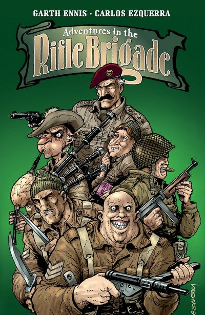Adventures In The Rifle Brigade (TPB) (2016)