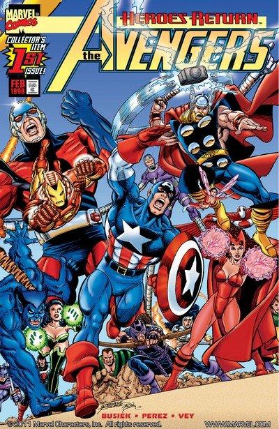 Avengers Vol. 3 #0 – 84 + 500 –  503 + Annuals (1998-2004)