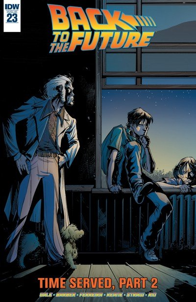 Back to the Future #23 (2017)
