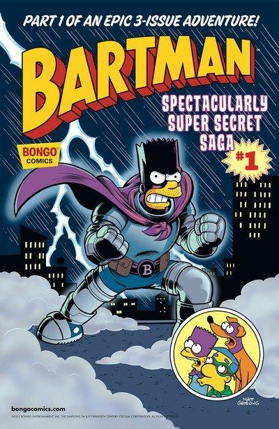 Bartman Spectacularly Super Secret Saga #1 (2017)