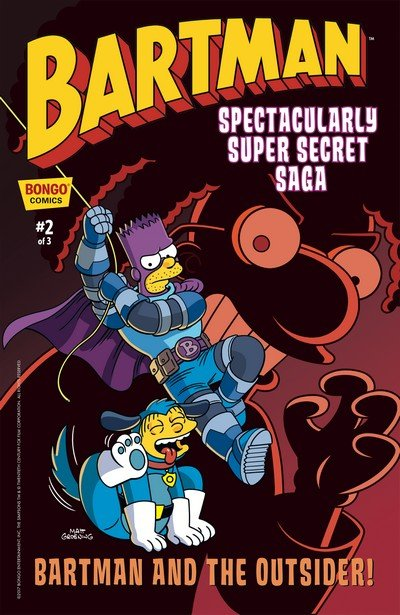 Bartman Spectacularly Super Secret Saga #2 (2017)