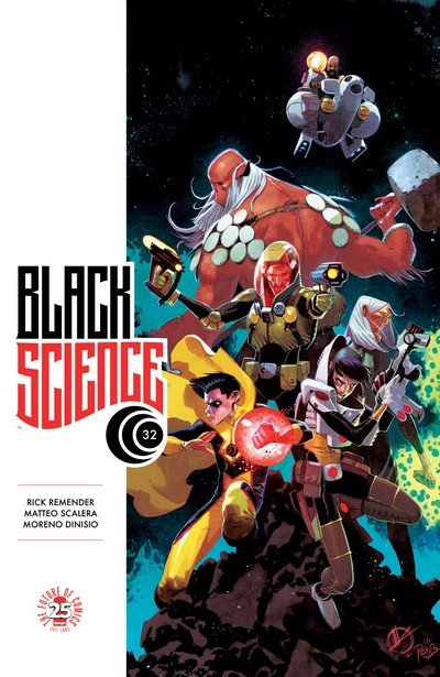 Black Science #32 (2017)