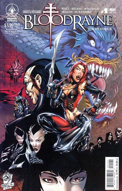 BloodRayne – Tokyo Rogue #1 – 3 (2008)