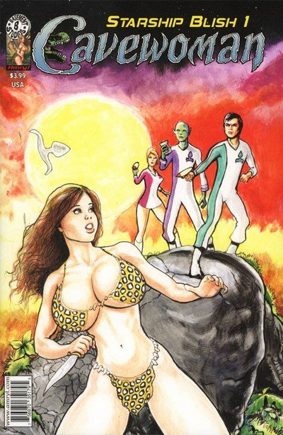 Cavewoman – Starship Blish #1 (Adult Comics) (2017)