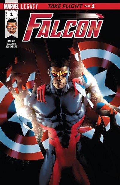 Falcon Vol. 2 #1 – 8 (2017-2018)
