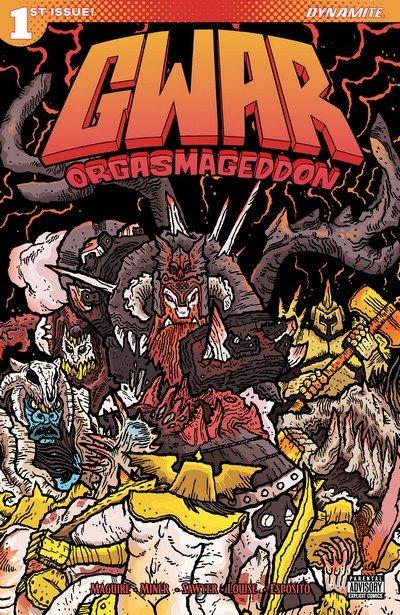GWAR – Orgasmageddon #1 – 4 (2017)