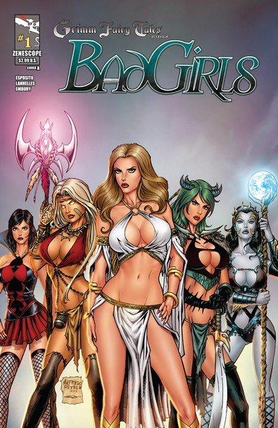 Grimm Fairy Tales presents Bad Girls #1 – 5 (2012)