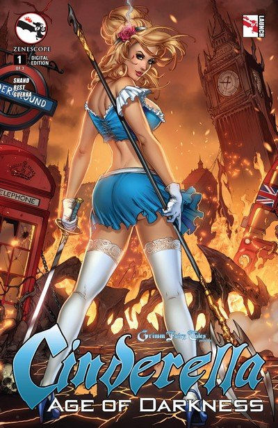 Grimm Fairy Tales presents Cinderella – Age of Darkness #1 – 3 (2014-2015)
