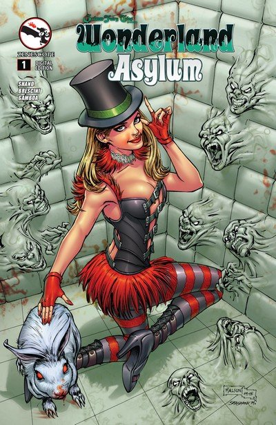 Grimm Fairy Tales presents Wonderland – Asylum #1 – 5 (2014)