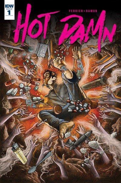 Hot Damn #1 – 5 + TPB (2016)