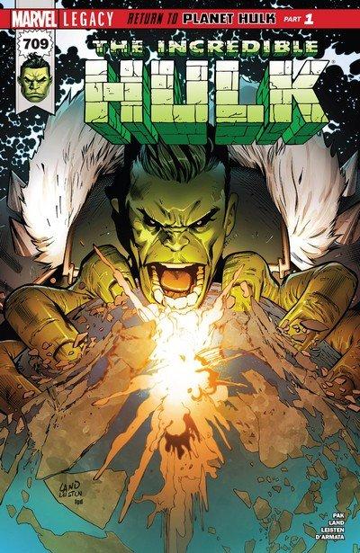 Incredible Hulk #709 (2017)
