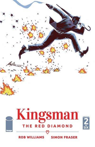 Kingsman – The Red Diamond #2 (2017)