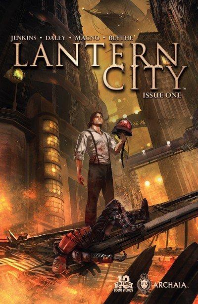 Lantern City #1 – 12 + TPB Vol. 1 – 3 (2015-2016)
