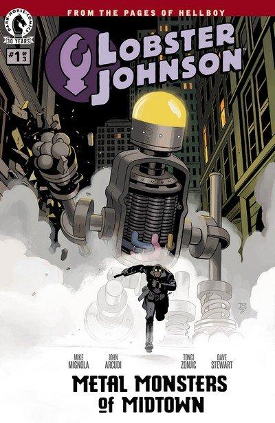 Lobster Johnson – Metal Monsters of Midtown #1 – 3 (2016)