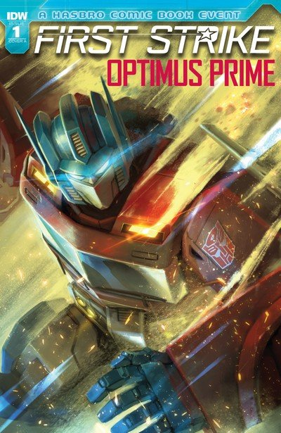 Optimus Prime First Strike #1 (2017)