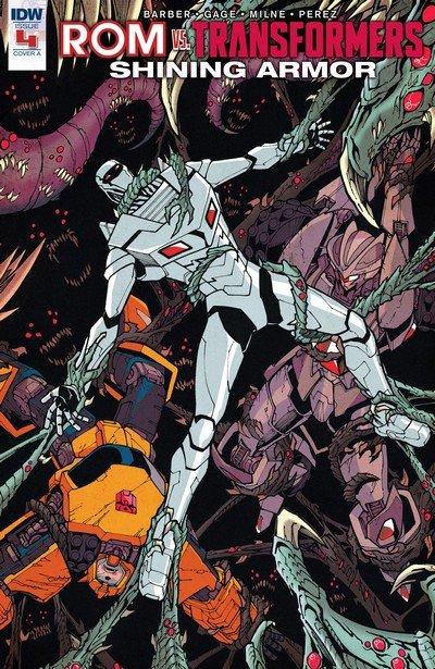 ROM vs Transformers – Shining Armor #4 (2017)