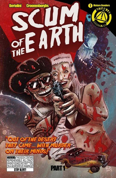 Scum of the Earth #1 – 3 (2014)